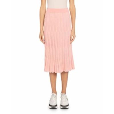 ケンゾー レディース スカート ボトムス Pull-On Knit Midi Skirt PINK PATTERN