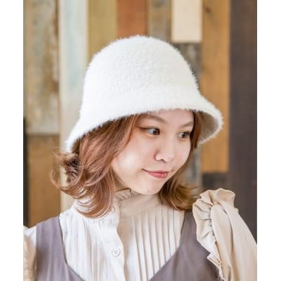 Shop無 / FAKE ANGPRA HAT【フェイクアンゴラハット】 WOMEN 帽子 > ハット