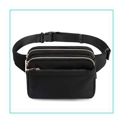 【新品】ZORFIN Fanny Packs for Women and Men Waist Pack Bag Cute Large Capacity Hip Bum Non-Slip Cotton Belt Durable Pouch for Outdoors Casual Tra