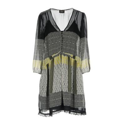 リュー ジョー LIU •JO ミニワンピース&ドレス ブラック 38 ポリエステル 100% ミニワンピース&ドレス