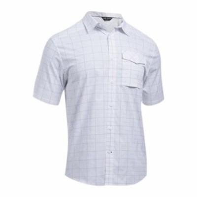 アンダーアーマー 半袖シャツ Backwater SS Button Down Shirt White/White
