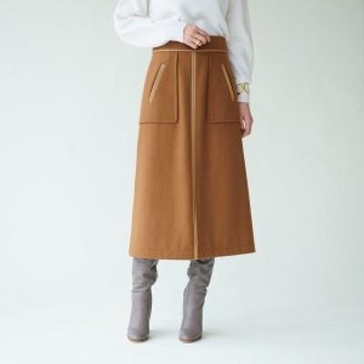 エメル リファインズ(EMMEL REFINES)/SMF WOパイピングスカート