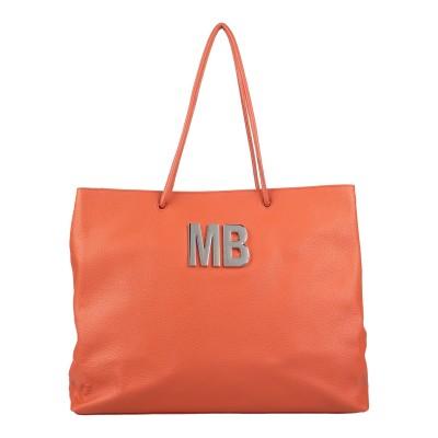 MIA BAG 肩掛けバッグ オレンジ 革 肩掛けバッグ