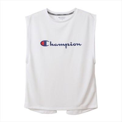 【1点までメール便可】 [Champion]チャンピオン レディース C ベイパー タンクトップ (CW-RS301)(010) ホワイト[取寄商品]