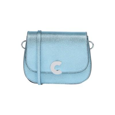 COCCINELLE ハンドバッグ アジュールブルー 牛革(カーフ) ハンドバッグ