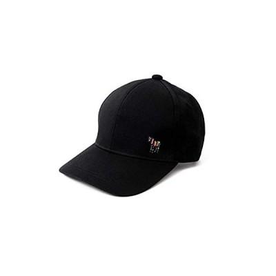 [ポール・スミス] Paul Smith ゼブラ ワンポイント ベースボールキャップ ポールスミス 帽子 (ブラック)