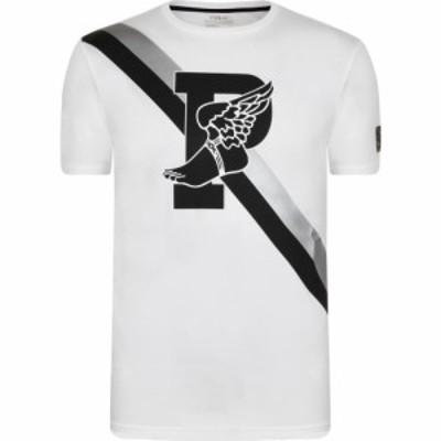 ラルフ ローレン POLO RALPH LAUREN メンズ Tシャツ トップス Active Fit P-Wing Graphic T Shirt White