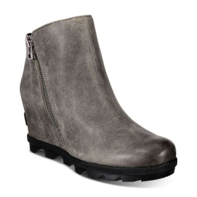 ソレル Sorel レディース ブーツ シューズ・靴 Joan Of Arctic Wedge Zip Booties Quarry