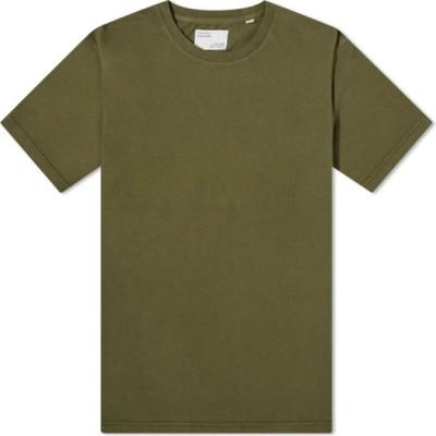 カラフルスタンダード Colorful Standard メンズ Tシャツ トップス Classic Organic Tee Seaweed Green