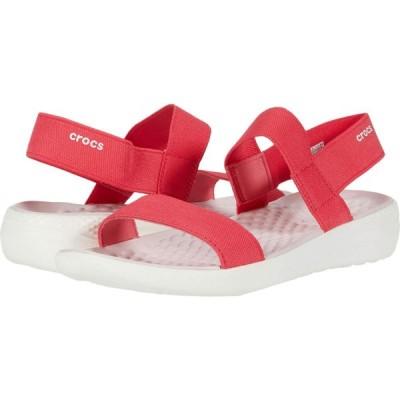 クロックス Crocs レディース サンダル・ミュール シューズ・靴 LiteRide Sandal Poppy/White