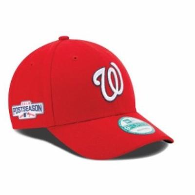 New Era ニュー エラ スポーツ用品  New Era Washington Nationals Red 2016 Postseason Side Patch 9FORTY Adjustable Hat