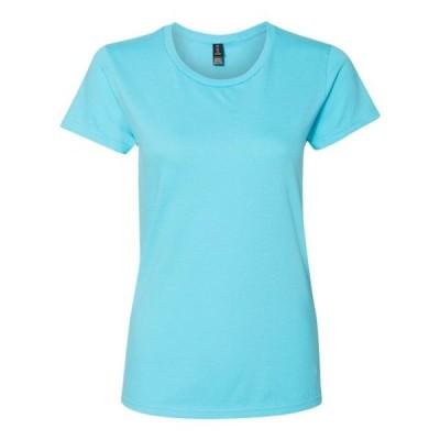 レディース 衣類 トップス Women's Lightweight T-Shirt Anvil Tシャツ