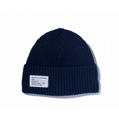 ニューエラ NEW ERA ミリタリーニット パッチ ネイビー ニットキャップ 帽子 日本正規品