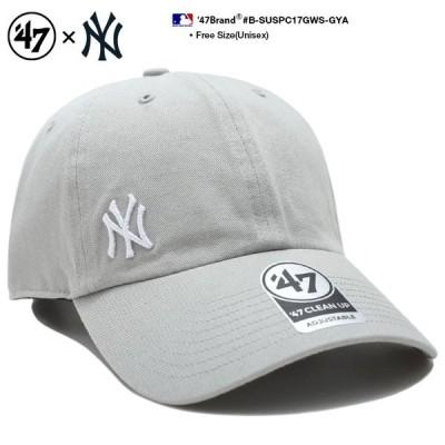 フォーティーセブンブランド 47BRAND 帽子 キャップ ローキャップ ボールキャップ CAP ニューヨーク ヤンキース ロゴ シンプル 刺繍 Fサイズ MLB