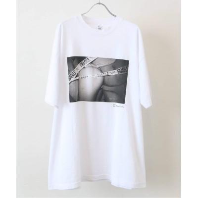 アンフォロー 【NITTA KEIICHI × UNFOLLOW 】フォトグラフTシャツ ホワイト M