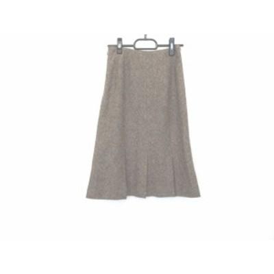 ヴァンドゥ オクトーブル 22OCTOBRE スカート サイズ36 S レディース ブラウン【中古】