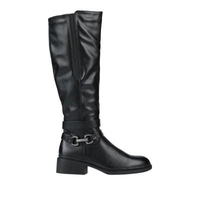 SAMPIETRINI ブーツ ブラック 41 紡績繊維 ブーツ