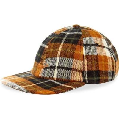バテンウェア Battenwear メンズ キャップ 帽子 field cap Chestnut Plaid