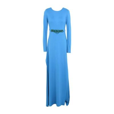 ピンコ PINKO ロングワンピース&ドレス アジュールブルー L 82% レーヨン 18% ナイロン ロングワンピース&ドレス