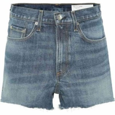 ラグandボーン Rag and Bone レディース ショートパンツ デニム ボトムス・パンツ High-rise denim shorts charlie