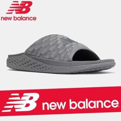 ニューバランス スライドサンダル シャワー ビーチ シューズ メンズ 靴 Fresh Foam Hupoo SMFTEKG1 新作