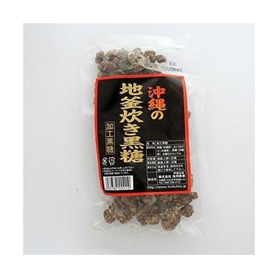 地釜炊き黒糖 180g×6袋 海邦商事 沖縄銘菓 提携農家の新鮮なさとうきびを使用 伝統的な製法と職人の技で炊き上げた黒糖 ミネラル補給に、