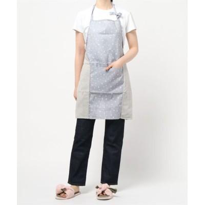 aimoha / エプロン 手拭き布付き / 韓国ライクなナチュラルカラー WOMEN 食器/キッチン > エプロン