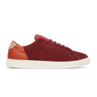 カジュアルシューズ ディーシーシューズ DC Shoes Men's Reprieve Shoes ADYS100409 BURGUNDY/TAN