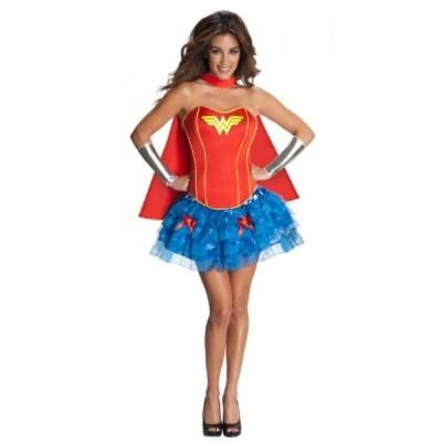 【送料無料】コスチューム DC Comics Secret Wishes Wonder Woman Corset And Tutu Costume 輸入品