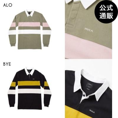 SALE 2020 RVCA ルーカ メンズ JOHNSY LS POLO ポロシャツ 2020年秋冬モデル 全2色 S/M/L rvca