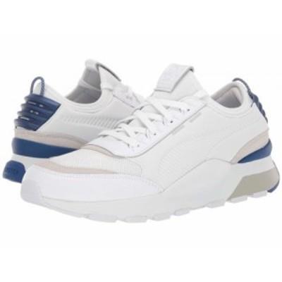 PUMA プーマ メンズ 男性用 シューズ 靴 スニーカー 運動靴 RS-0 Core Puma White/Surf the Web【送料無料】
