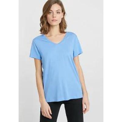 Cream レディーストップス Cream NAIA - Basic T-shirt - provence blue prov