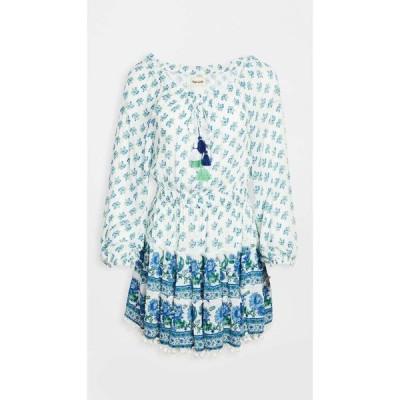 プラヤ ルシラ Playa Lucila レディース ワンピース ワンピース・ドレス Printed Short Dress Blue Multi