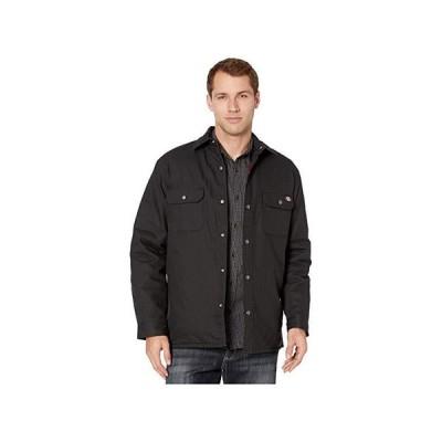ディッキーズ Plaid Lined Shirt Jacket メンズ コート アウター Black