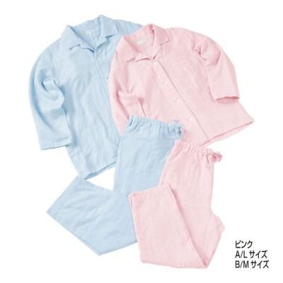 内祝い 記念品 ホームウエア 寝装品関連商品 |マシュマロガーゼ レディース ピンク | パジャマ RP15682 L