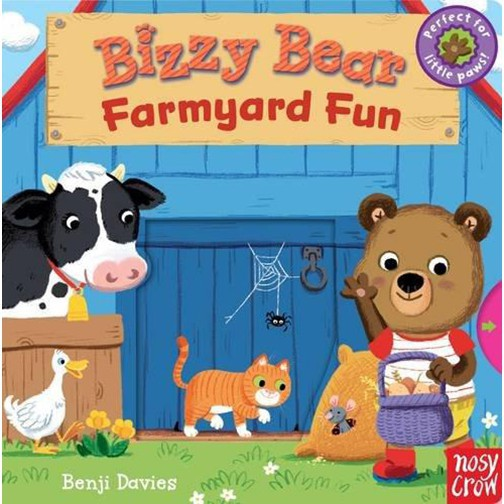 Bizzy Bear: Farmyard Fun (2 Ed.) 互動式繪本 誠品 / Benji Davies