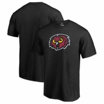 Fanatics Branded ファナティクス ブランド スポーツ用品  Fanatics Branded Temple Owls Black Primary Logo T-Shirt
