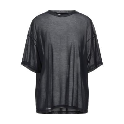 テッサ .TESSA T シャツ ブラック XS コットン 70% / ナイロン 30% T シャツ