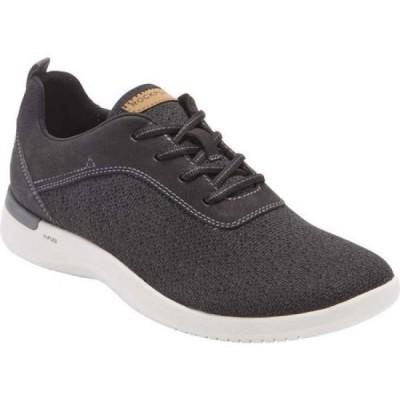 ロックポート Rockport メンズ スリッポン・フラット シューズ・靴 Truflex Fly Plain Toe Sneaker Black Textile