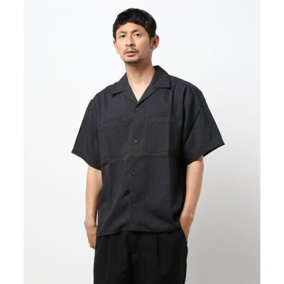 シャツ ブラウス 「INASTUDIOS SELECT」ポケット オープンシャツ