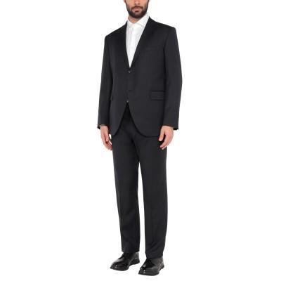 LUBIAM スーツ ダークブルー 58 スーパー110 ウール 100% スーツ