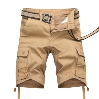 カーゴパンツショートパンツハーフパンツメンズカーゴミリタリー半ズボン短パン膝丈5分丈ストリートカジュアルボトムスファッション