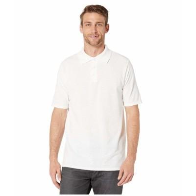 ヘインズ シャツ トップス メンズ FreshIQ X-Temp Pique Polo White