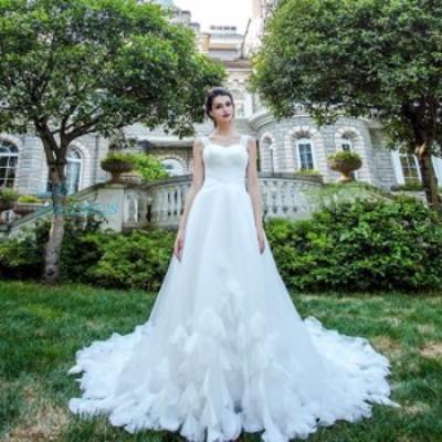 安い 二次会 挙式 花嫁 前撮り ロングドレス パーティードレス ウエディング 結婚式 大きいサイズ ウェティグドレス 発表会 Aラインドレ