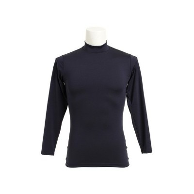デュアリグ(DUARIG) ストレッチハイネックシャツ 741D6ES5389 NVY 【サッカー スポーツ ウェア メンズ インナー アンダー シャツ 長袖】 (メンズ)