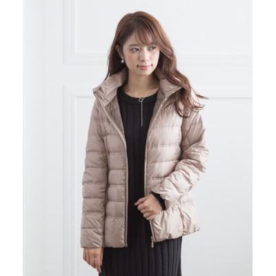 シンプルダウンジャケット(はっ水加工) (コート)(レディース)Coat