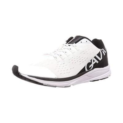 ガビック ランニングシューズ ランシュー ジョギングシューズ GS2019 WHITE/BLACK 26.5 cm