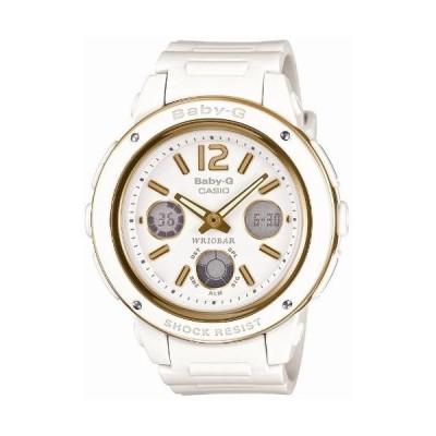 [カシオ] 腕時計 ベビージー BGA-151-7BJF ホワイト