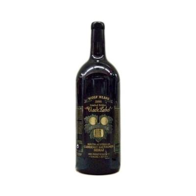 赤ワイン wine オーストラリア ダブル・マグナム瓶 ウルフ・ブラス・ブラック・ラベル 1996年 3000ml 木箱入り