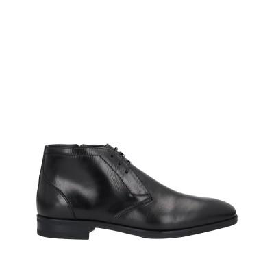 ファビ FABI ショートブーツ ブラック 44.5 牛革(カーフ) ショートブーツ